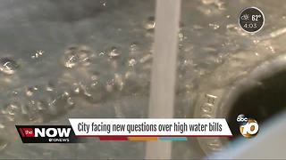 San Diego facing new questions over high water bills - Video