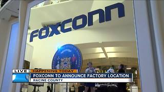 Foxconn expected to locate plant in Mount Pleasant - Video