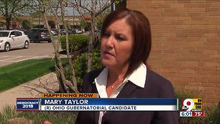 Ohio gubernatorial candidates anxiously await primary results - Video