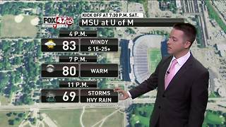 Dustin's Forecast 10-6 - Video