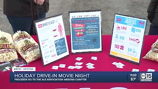 Holiday drive-in movie night for ALS Associationabc15,