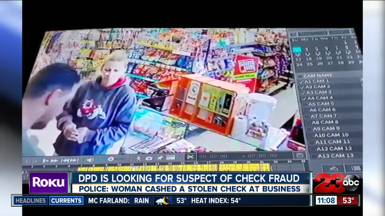 Delano Police Department Searching for Fraud Suspect
