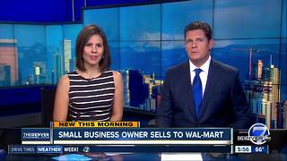 Colorado small business owner sells to Walmart - Video