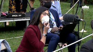 Trump Tells Reporter To Ask China About Coronavirus In Tense Exchange