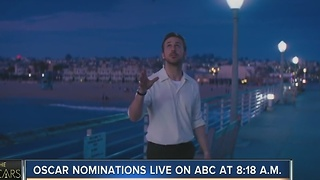 Oscar nominations live on ABC at 8:18AM