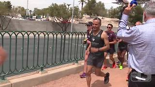 #VegasStrong locals unite to run Boston Marathon - Video