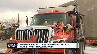 Wayne County is preparing for the worst winter can offer - Video