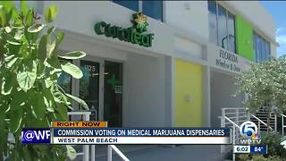 Commission voting on medical marijuana dispensaries - Video