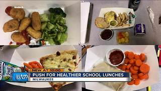 Milwaukee Public Schools leaders discuss healthier lunches at meeting - Video