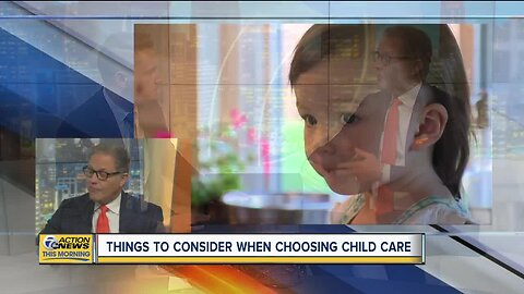 Considerations when choosing child care