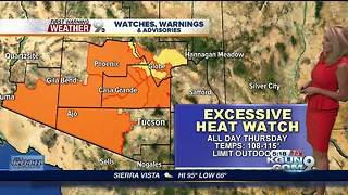 April's First Warning Weather July 3, 2018 - Video