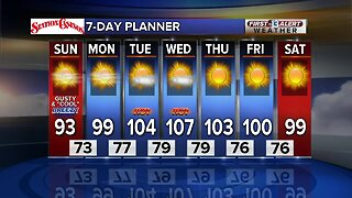 13 First Alert Las Vegas Weather June 9 Morning