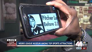 Negro League Baseball Museum among top sports attractions on online list - Video