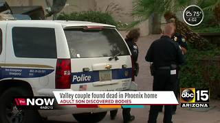 Police identify elderly couple found dead in home - Video