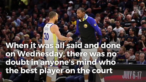 Kevin Durant Showed Why The Warriors Are Virtually Unbeatable