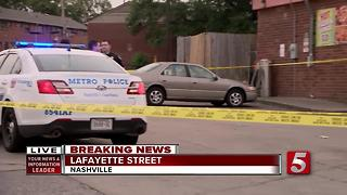 Man Injured In Shootout At Nashville Gas Station - Video