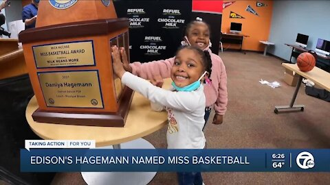 Detroit Edison guard Damiya Hagemann named Miss Basketball