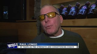 29-year college football strength coach, now blind, receives gift from friends
