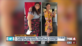 Florida woman now fighting cancer after successful weight loss
