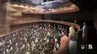 Plan for Performing Arts Center in Boca Raton