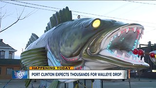 Port Clinton hosts annual Walleye Drop