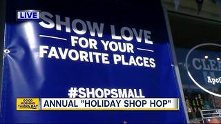Seminole Heights businesses set to shine at Holiday Shop Hop - Video