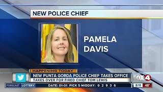 New Punta Gorda police chief takes office - Video