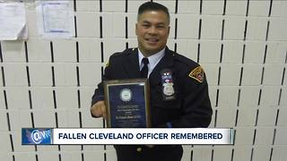 Fallen Cleveland officer remembered - Video