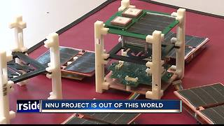 First satellite 3-D printed in space thanks to NNU students - Video