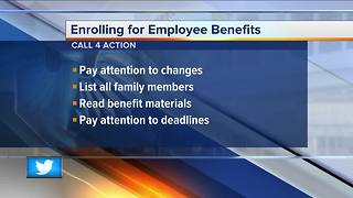 Things to consider when signing up for employee benefits - Video