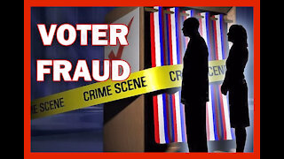 Voter Fraud Evidence via Surveillance Video
