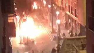 Unrest in Madrid Following Reports of Immigrant Street Vendor's Death - Video