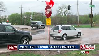 Safety concerns at 192nd and Blondo - Video