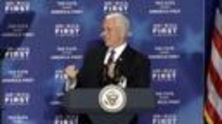 Vice President Pence recalls the Council Bluffs 2011 flood - Video