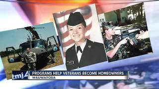 Wauwatosa veteran discovers home loan incentives - Video