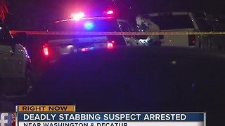 Suspect's name, other details released in early morning stabbing - Video