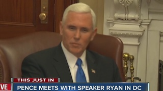 Pence excited about Carrier deal announcement - Video