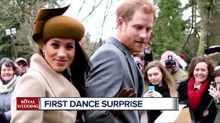 What will be the first dance at the royal wedding - Video
