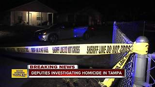 Homicide investigation underway after man found dead at Tampa home - Video