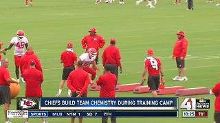 Chiefs build team chemistry during training camp