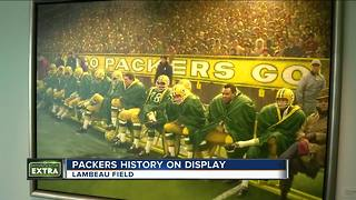 Lambeau Field renovation includes 500 new pieces of art - Video