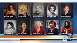 2018 Colorado Women's Hall of Fame Inductee Announcement - Video