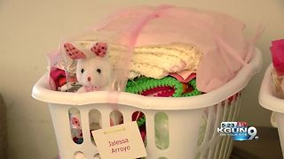 Baby shower for new parents at Davis-Monthan Air Force Base - Video