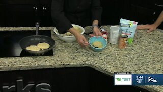 Shape Your Future Healthy Kitchen: Pumpkin Oat Pancakes