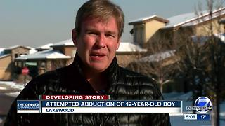 School, father say man tried to abduct Lakewood boy getting off school bus - Video