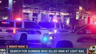Shooting at Phoenix light rail station leaves 1 dead, 1 injured - Video