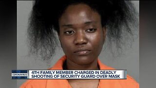 Sister of alleged Family Dollar shooter charged in connection to face mask incident