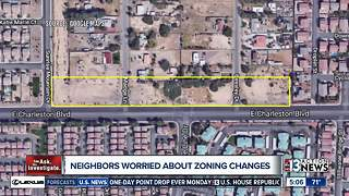 East Las Vegas woman on crusade against commercial development - Video