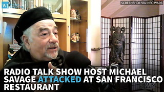 Radio Talk Show Host Michael Savage Attacked At San Francisco Restaurant.mp4 - Video