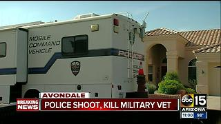 DPS: Man shot, killed by police in Avondale - Video
